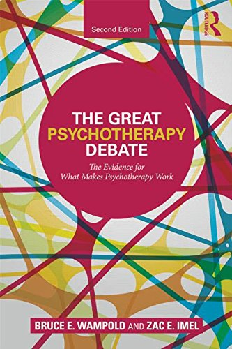 Wampold, Bruce. The Great Psychotherapy Debate: The Evidence For What Makes Psychotherapy Work